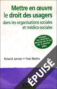 Mettre en œuvre le droit des usagers dans les établissements d'action sociale